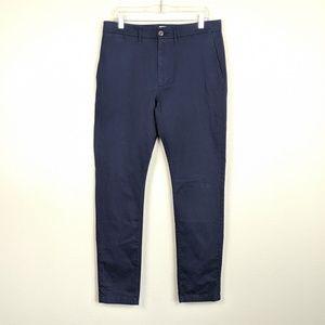 Goofellow & Co Navy Hennepin Chino Pants NWOT